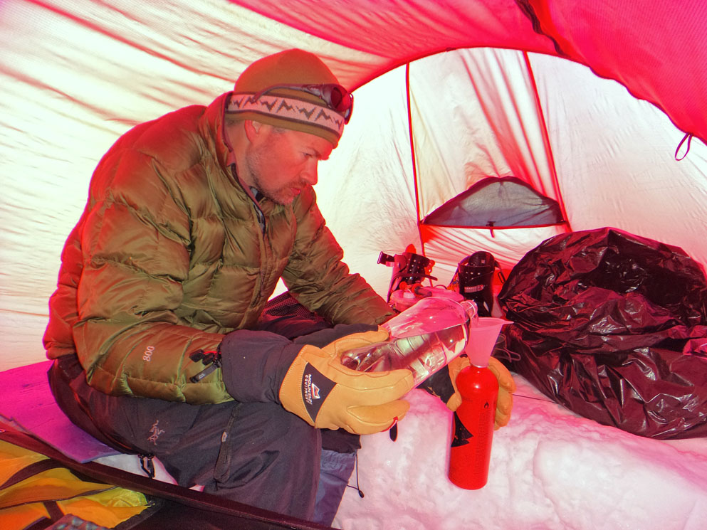 Inside the bell of the tent. & two Hilleberg Saitaris tents | Eagle Ski Club